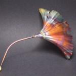 multi-color ginkgo leaf